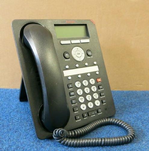 Avaya 1608-I  One-X  Business VoIP PoE Deskphone Telephone W/ Handset And Stand